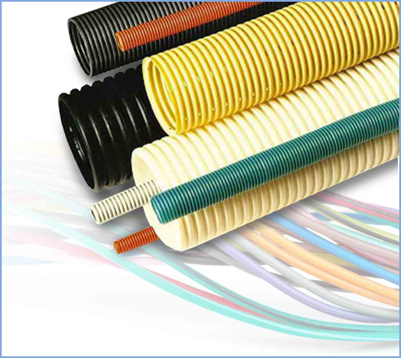 Corrugated Pipe for Electric Cable Systems